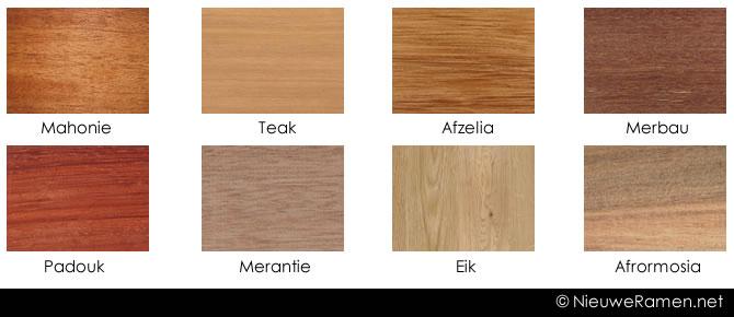 Nieuwe houten ramen en deuren prijs soorten tips advies for Hout voor traptreden