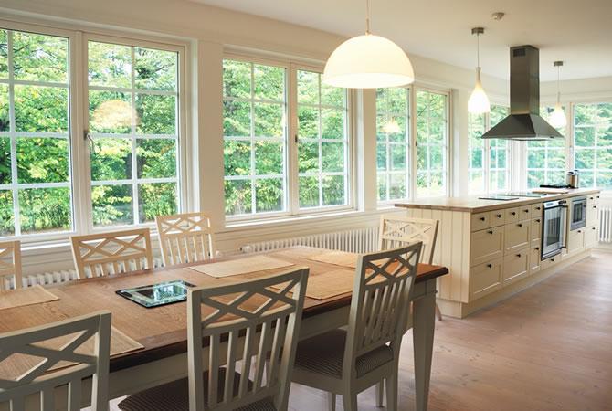 Keuken Landelijk Ramen : Klassieke pvc ramen foto s landelijk pastoriestijl